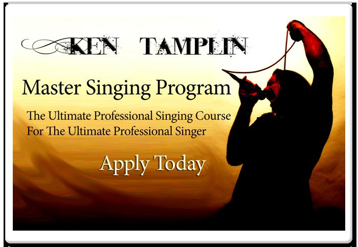Ken Tamplin's Master Singing Program